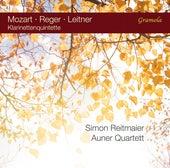 Mozart, Leitner & Reger: Klarinettenquintette by Simon Reitmaier