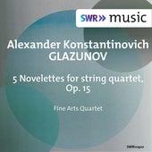 Glazunov: 5 Novelettes, Op. 15 de Fine Arts Quartet