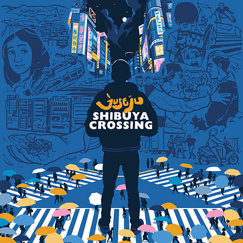 Shibuya Crossing by Juse Ju