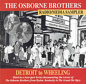 Detroit to Wheeling by The Osborne Brothers