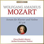 Wolfgang Amadeus Mozart - Sonate für Klavier und Violine B-Dur KV 378 (Piano & violin sonata kv 378) by Arthur Grumiaux