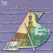 Rarities of Piano Music 2008 - Live Recording from the Husum Festival de Various Artists