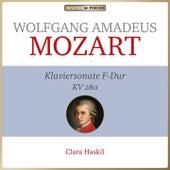 Wolfgang Amadeus Mozart - Klaviersonate F-Dur KV 280 (Piano sonata kv 280) von Clara Haskil