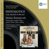 Shostakovich:Lady Macbeth of Mtsensk/Mstislav Rostropovich de Mstislav Rostropovich
