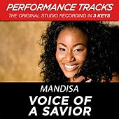Voice Of A Savior (Premiere Performance Plus Track) by Mandisa