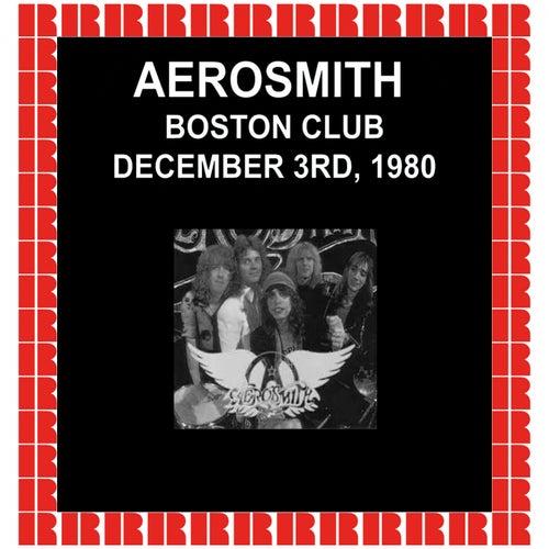 Boston Club, Boston, 1980 (Hd Remastered Edition) de Aerosmith