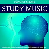 Study Music: Thunderstorm Sounds for Studying, Focus, Reading, Concentration and Alpha Waves Binaural Beats Studying Music by Study Music