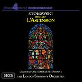Ives: Orchestral Set No.2 / Messiaen: L'Ascension by Leopold Stokowski