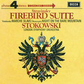 Mussorgsky: Night on the Bare Mountain /Stravinsky: The Firebird Suite von Leopold Stokowski