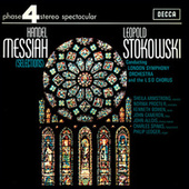 Handel: Messiah (Highlights) von Leopold Stokowski