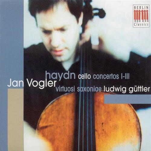 HAYDN, J.: Cello Concertos Nos. 1, 2, 4 (Vogler, Virtousi Saxoniae, Guttler) by Ludwig Guttler