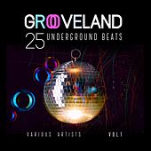 Grooveland (25 Underground Beats), Vol. 1 by Various Artists