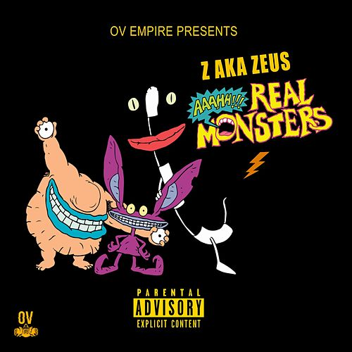 Ah Real Monsters by Z