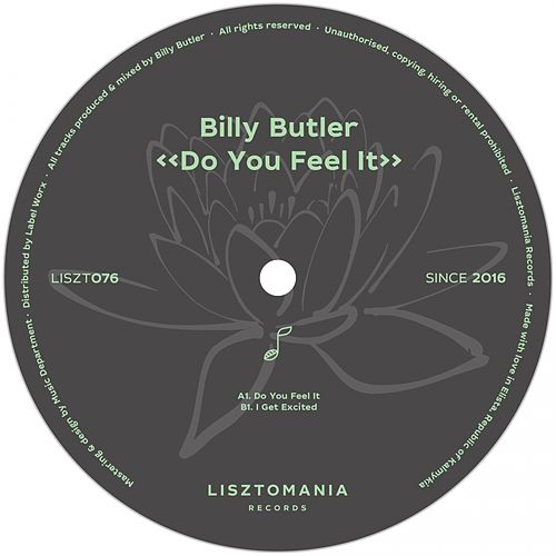 Do You Feel It - Single by Billy Butler