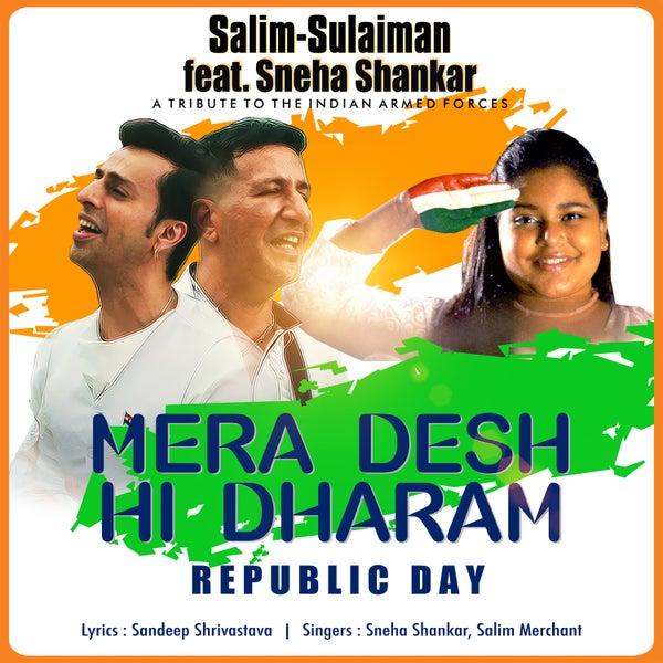 Mera Desh Hi Dharam Republic Day Single Single Von Salim