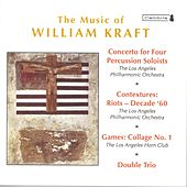 KRAFT, W.: Concerto for 4 Percussion Soloists / Contextures I / Games: Collage No. 1 / Double Trio (Mehta) de Various Artists