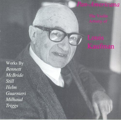 BENNETT, R.R.: Violin Concerto / A Song Sonata / HELM, E.: Comment on Two Spirituals / GUARNIERI, C.: Violin Sonata No. 2 (Kaufman) (1933-1947) by Louis Kaufman