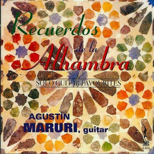 Recuerdos de la Alhambra by Agustin Maruri