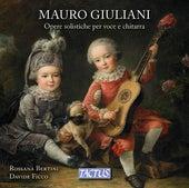 Giuliani: Opere solistiche per voce e chitarra by Various Artists