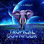 Tropical Downpour by Kelly