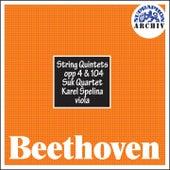 Beethoven:  String Quintets, Opp 4 & 104 von The Suk Quartet