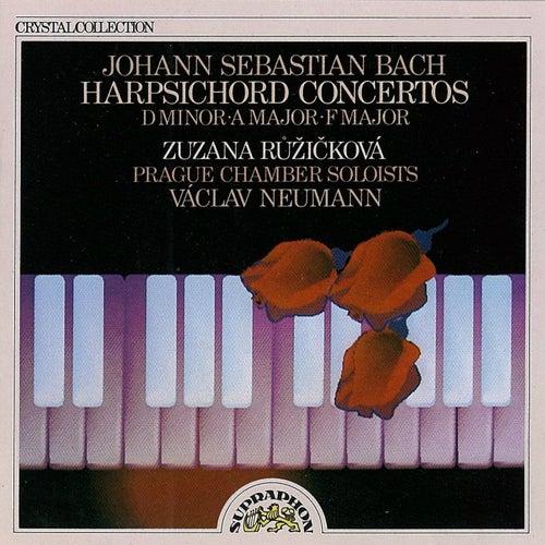 Bach: Harpsichord Concertos by Zuzana Ruzickova