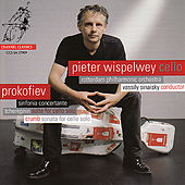 Prokofiev: Sinfonia Concertante, Tcherepnin: Suite for Cello, Crumb: Sonata for Cello by Peter Wispelwey