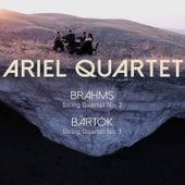 Brahms: String Quartet No. 2; Bartók: String Quartet No. 1 by Ariel Quartet