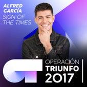 Sign Of The Times (Operación Triunfo 2017) de Alfred García