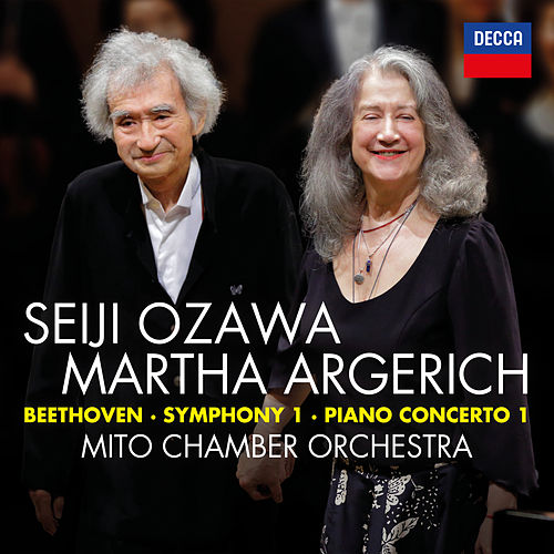 Beethoven: Symphony No.1 in C; Piano Concerto No.1 in C (Live) by Seiji Ozawa