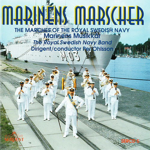 Marinens marscher by Royal Swedish Navy Band