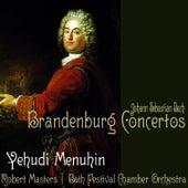 Bach: Brandenburg Concertos by Yehudi Menuhin