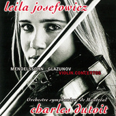 Mendelssohn & Glazunov: Violin Concertos / Tchaikovsky: Valse-Scherzo by Charles Dutoit