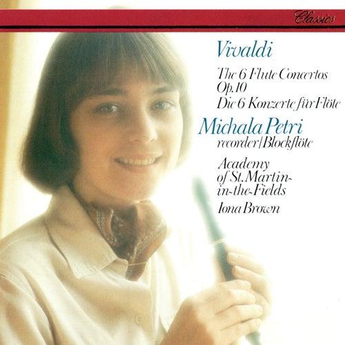 Vivaldi: 6 Concertos, Op.10 by Iona Brown