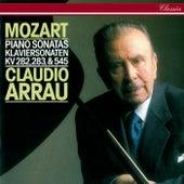 Mozart: Piano Sonatas Nos. 4, 5 & 16 by Claudio Arrau