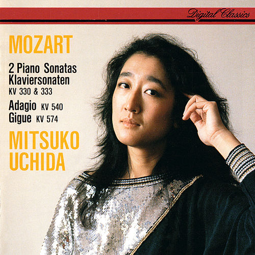 Mozart: Piano Sonatas Nos. 10 & 13; Adagio In B Minor; Kleine Gigue In G Major by Mitsuko Uchida