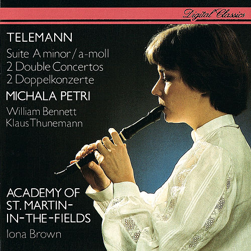 Telemann: Recorder Suite; 2 Double Concertos by Iona Brown