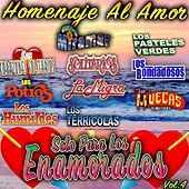Solo Para Los Enamorados Homenaje Al Amor, Vol. 4 by Various Artists
