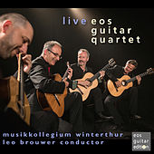 Live von Eos Guitar Quartet