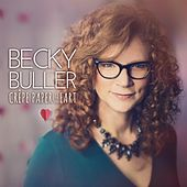 Crêpe Paper Heart by Becky Buller