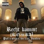 Recht kommt (K.O. in KA) by POL1Z1STENS0HN a.k.a. Jan Böhmermann
