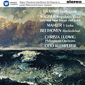 Christa Ludwig sings Brahms, Wagner. Mahler &  Beethoven by Various Artists