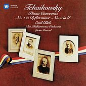 Tchaikovsky: Piano Concertos Nos 1 & 2 by Emil Gilels