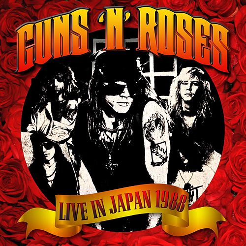 Live in Japan 1988 de Guns N' Roses