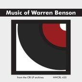 Music of Warren Benson de Various Artists