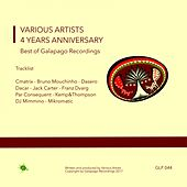 4 Years Anniversary Best of Galapago Recordings - EP by Various Artists