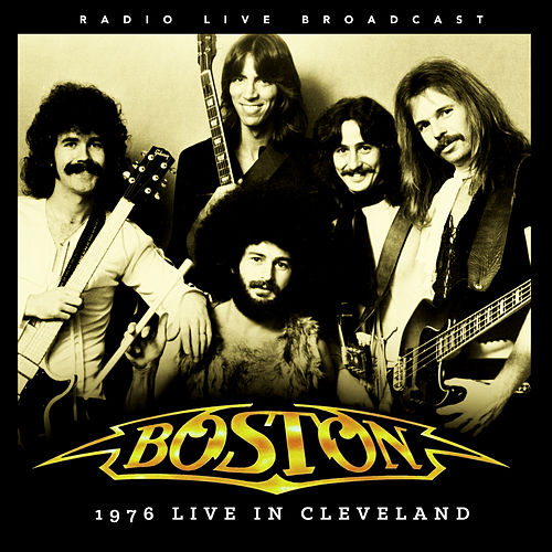 1976 Live in Cleveland de Boston