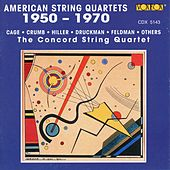 American String Quartets 1950-1970 by Concord String Quartet