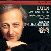 Haydn: Symphonies Nos. 102 & 104 by André Previn