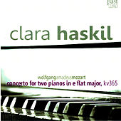 Mozart: Concerto for Two Pianos in E-Flat Major, KV365 de Clara Haskil